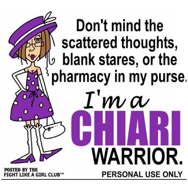 Chiari...Fight Like a Girl!!!