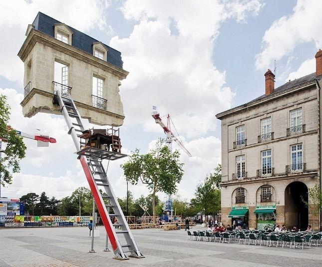 La chambre suspendue de Leandro Erlich   Voyage à nantes, Nantes, Photos