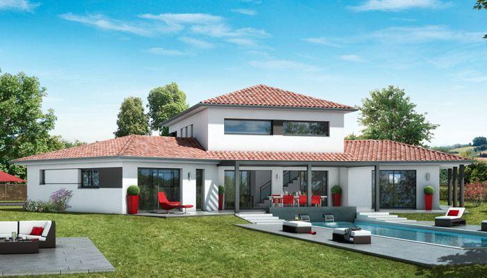 plan maison moderne haut de gamme