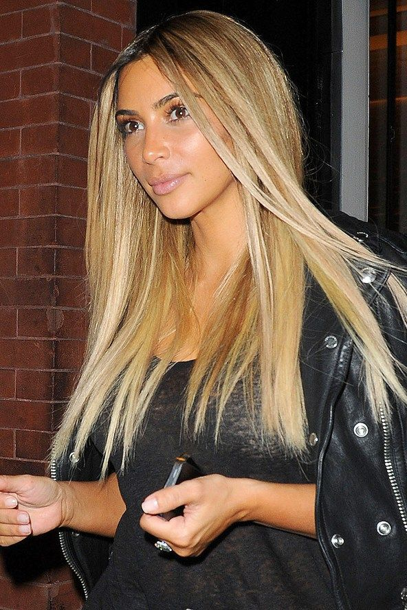 Kim Kardashian Haarfarbe