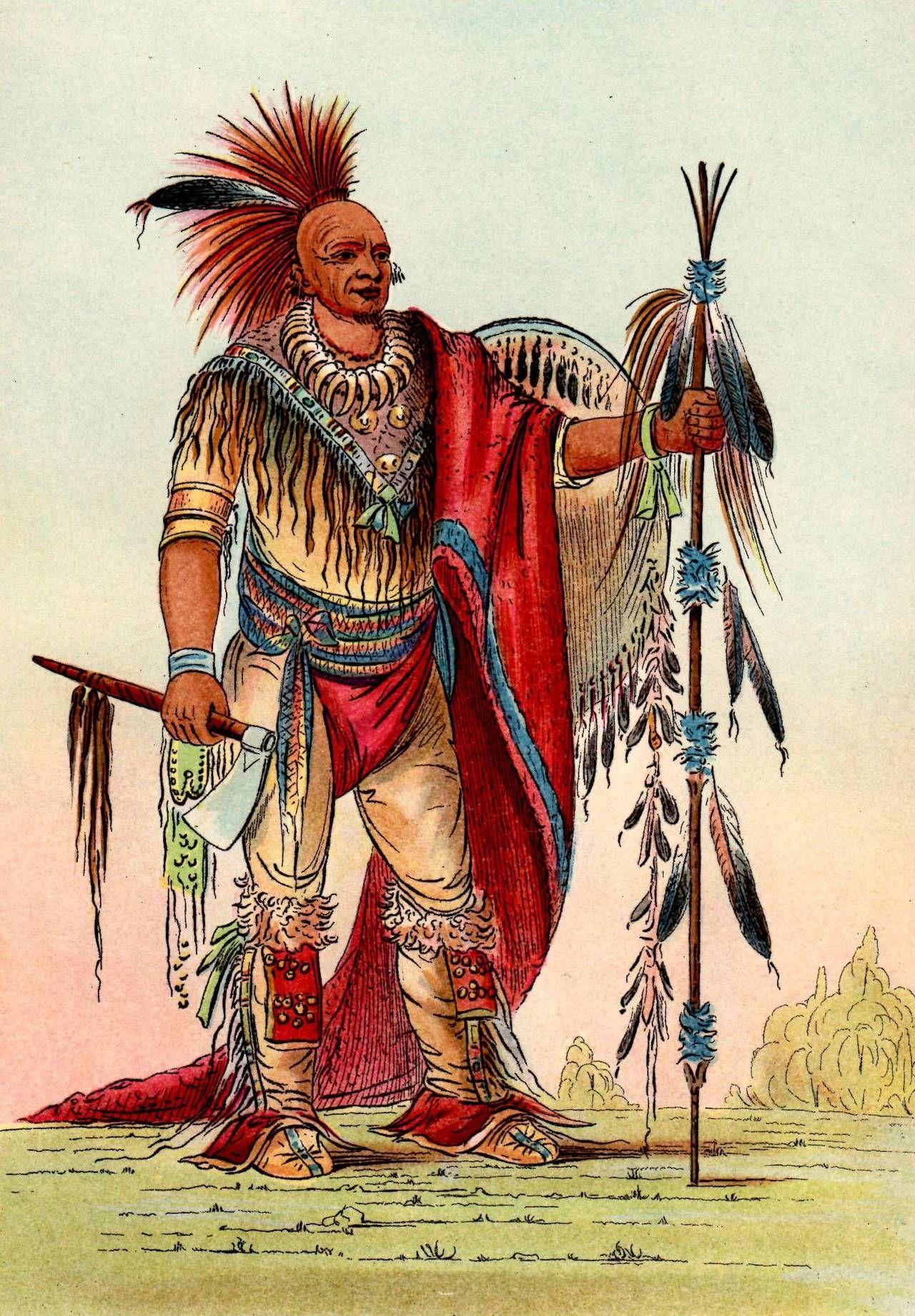 Eastern Woodland Indians Men S Clothing