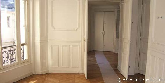 Apartment rental 3 bedrooms + Paris rue du Faubourg Saint Honoré ...
