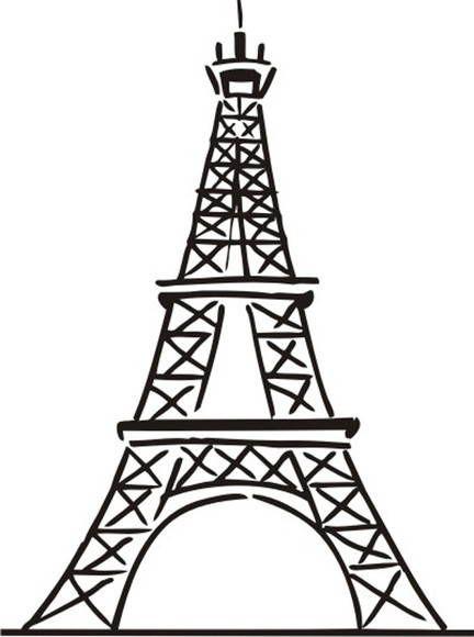 Torre Eiffel Jpg 432 580 Píxeles Torre Eiffel Dibujo Torre Eiffel Torres