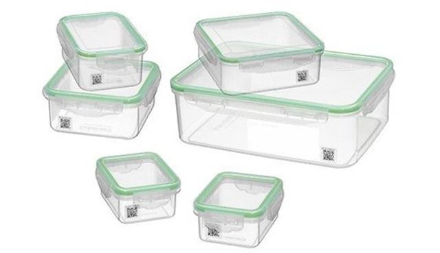 Cuisinart 12 Pc Smart Track Food Storage Containers Free App