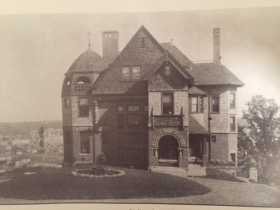 Katy Haigh - Razed houses on Crocus Hill - Dorr House, 1887, 5 Crocus Hill