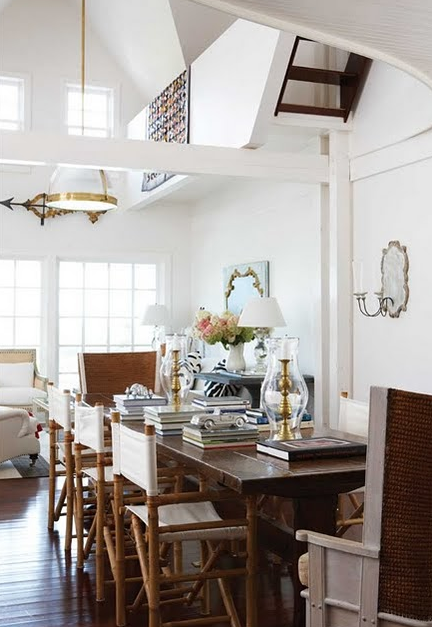 Director Chair Mme Style House And Home Magazine Home New England Homes