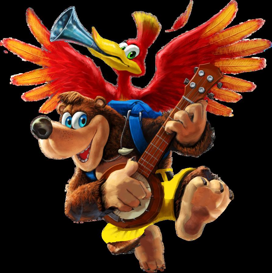 73 Banjo And Kazooie Super Smash Bros Ultimate By Elevenzm On Deviantart Smash Bros Super Smash Bros Banjo