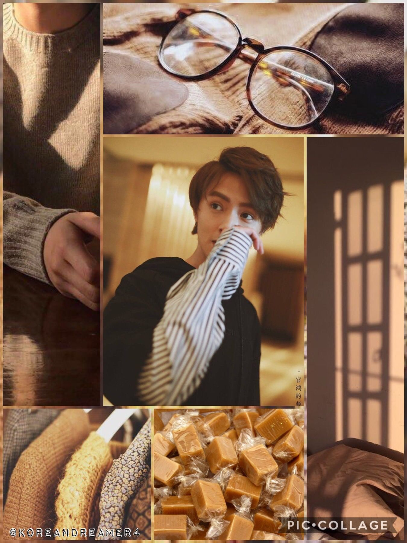 Darren Chen Brown Aesthetic The Reason To Think About A Wall In