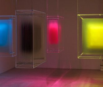 4 colors separations - David Spriggs. Art installation