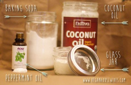 Healthy Living Diy Homemade Coconut Oil Toothpaste