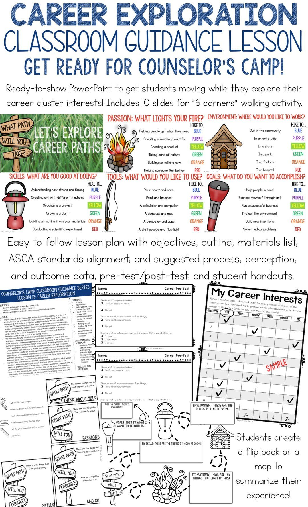 Career Exploration Classroom Guidance Lesson For