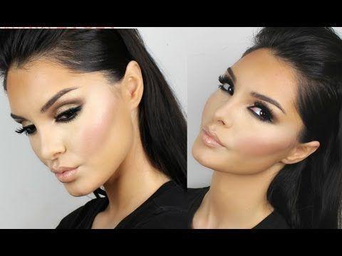 Kim Kardashian Makeup Tutorial New Brown Smokey Eyes – # ...