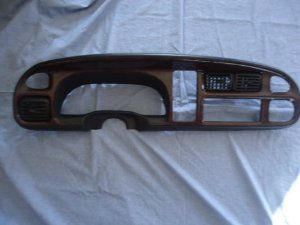 98 01 Dodge Ram 1500 2500 Speedometer Dash Bezel Woodgrain By Dodge 399 99 98 99 00 01 Dodge Ram 1500 2500 Speedometer Dash Car Electronics Car Dodge Dakota