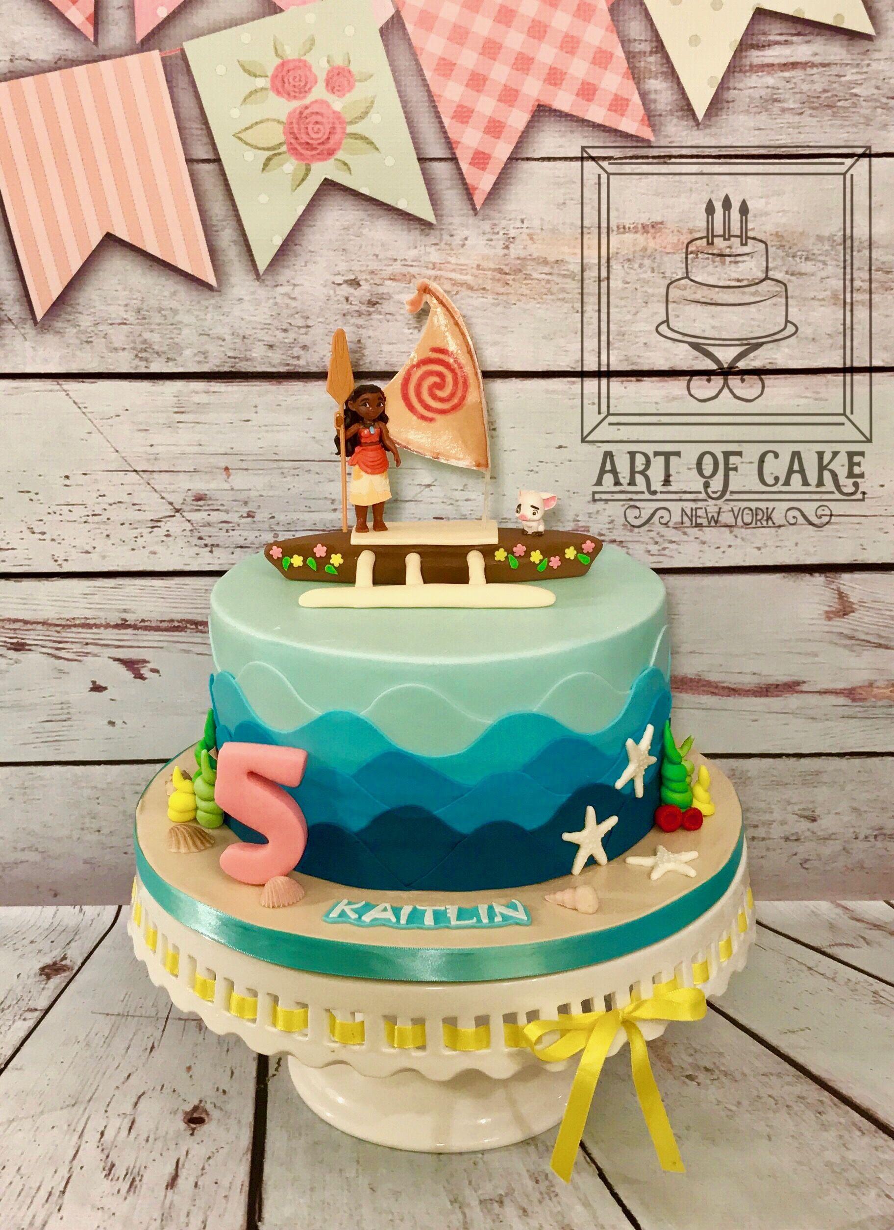 Moana Birthday Cake Moana Party Ideas Pinterest Moana Birthday