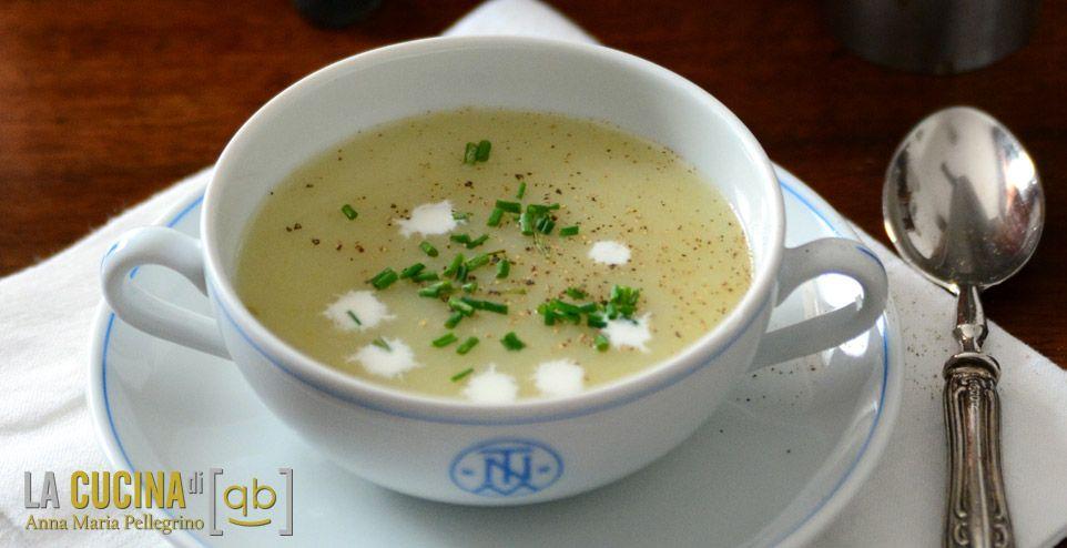 Crema Vichyssoise, la zuppa francese di porri e patate da servire fredda