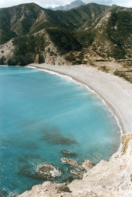 Agios Minas shore, Karpathos island, Dodecanese