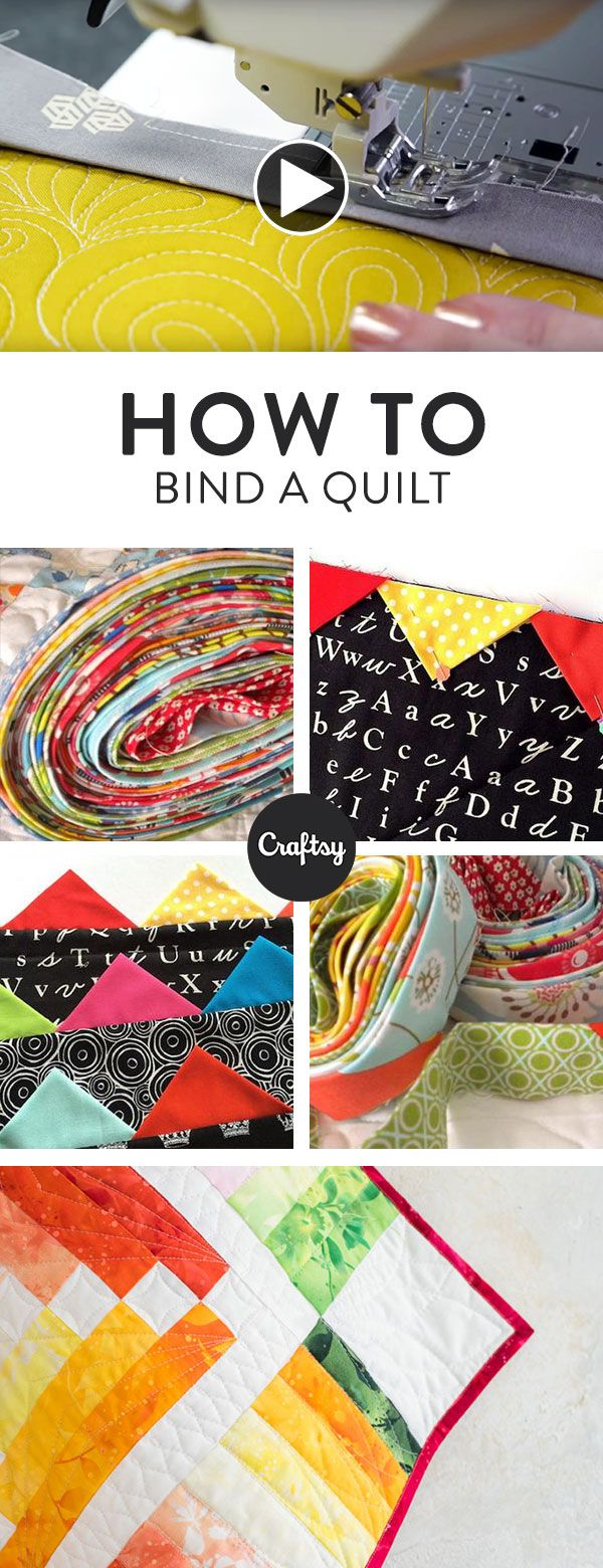 Learn quilter Angela Walters' foolproof techniques for binding ... : how to bind a quilt video - Adamdwight.com