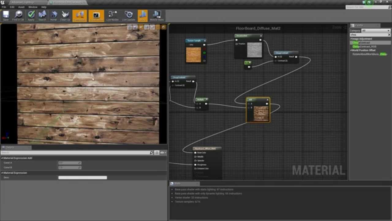 Ue4 Advanced Materials Ep 19 Manipulating Textures Modelado