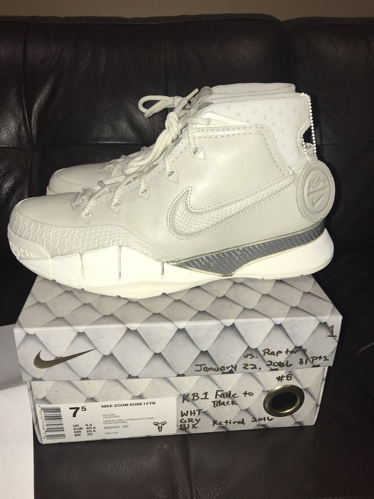 on sale 2c1b1 e89b0 Kobe 1 Fade To Black Size 7.5 Offers Considered   eBay