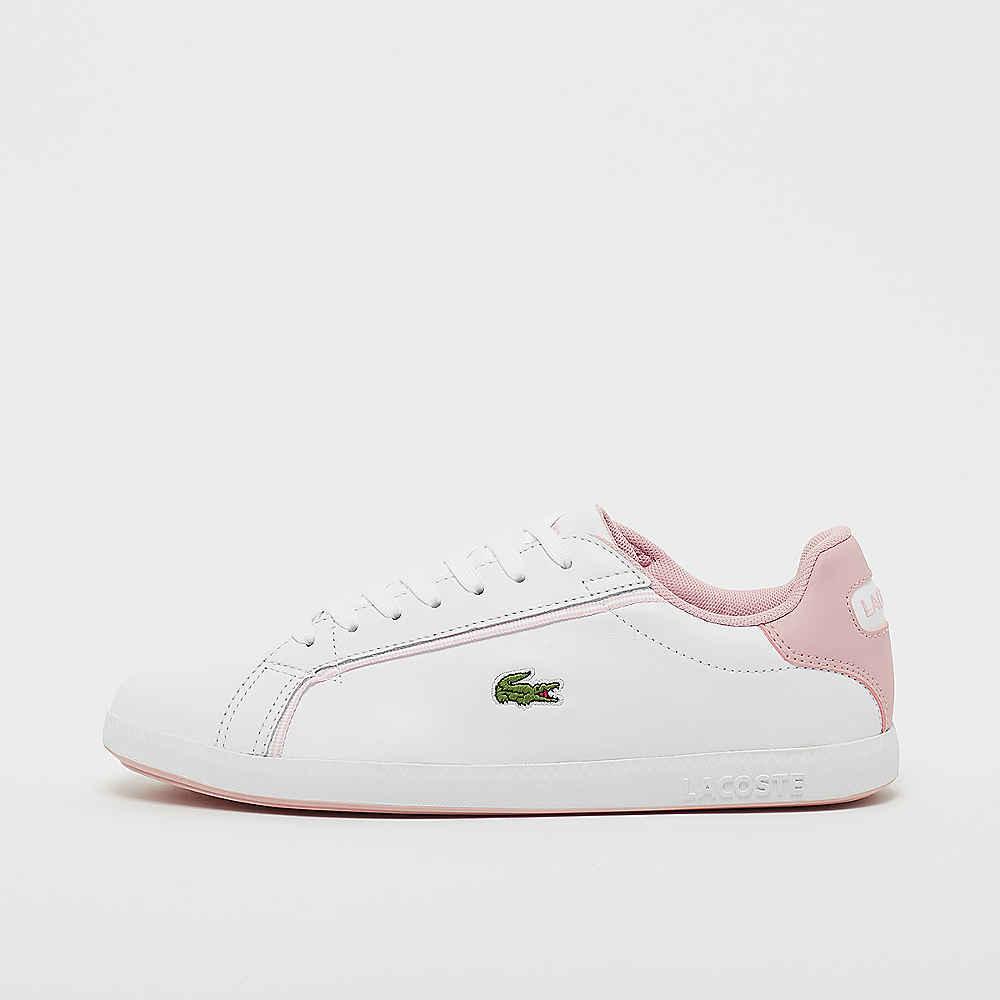 sports shoes e72e9 a98a7 Lacoste Graduate 119 1 sffa white/lt pink Sneaker bei SNIPES ...