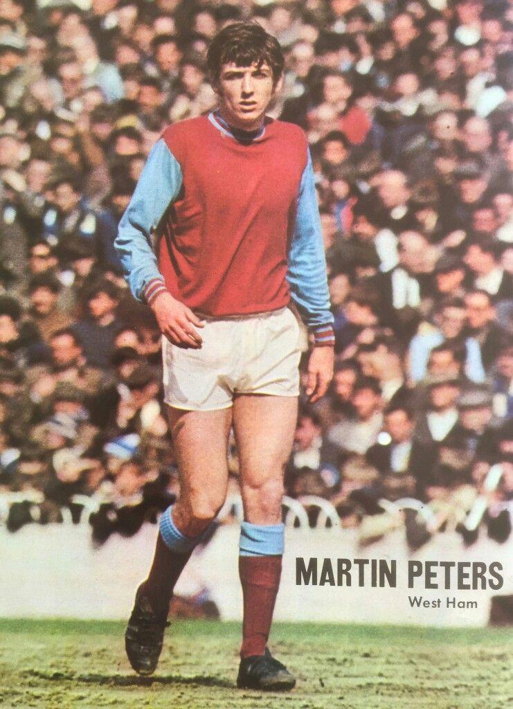 Martin Peters of West Ham in 1967.
