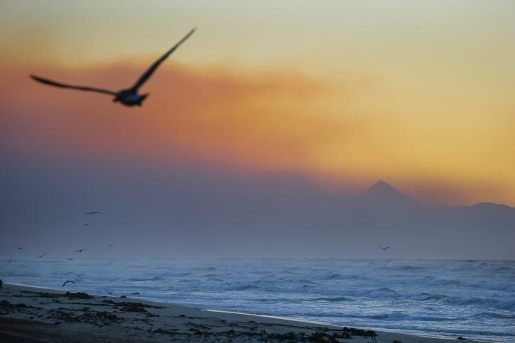 غروب الشمس في جنوب أفريقيا Natural Landmarks Pictures Sunset