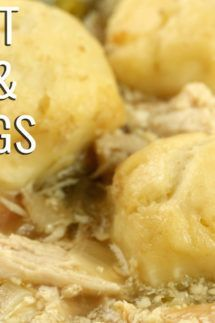 Chicken Archives - Cooking With Janica #chickendumplingscrockpot Crock Pot Chicken & Dumplings Recipe #chickendumplingscrockpot