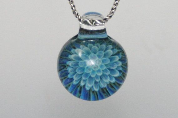 Blown glass necklace....love this guys jewellery! www.visionaryglassatrs.com