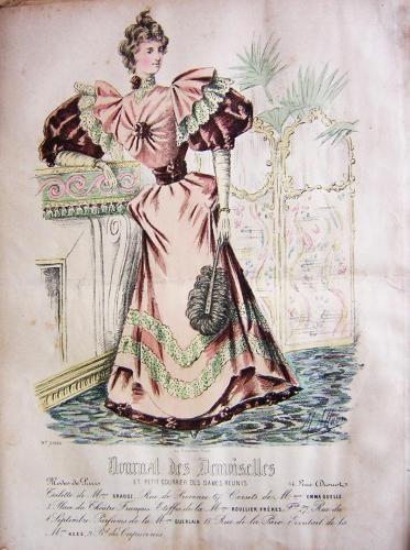 1894. reception dress, Journal des Demoiselles