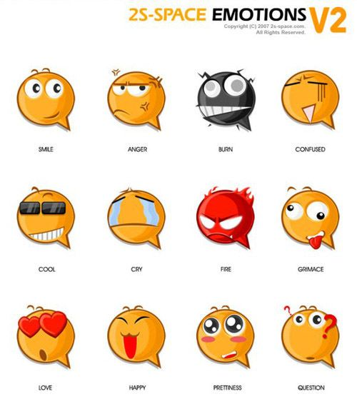 Beautiful Emoticons and Smiley Icon Packs