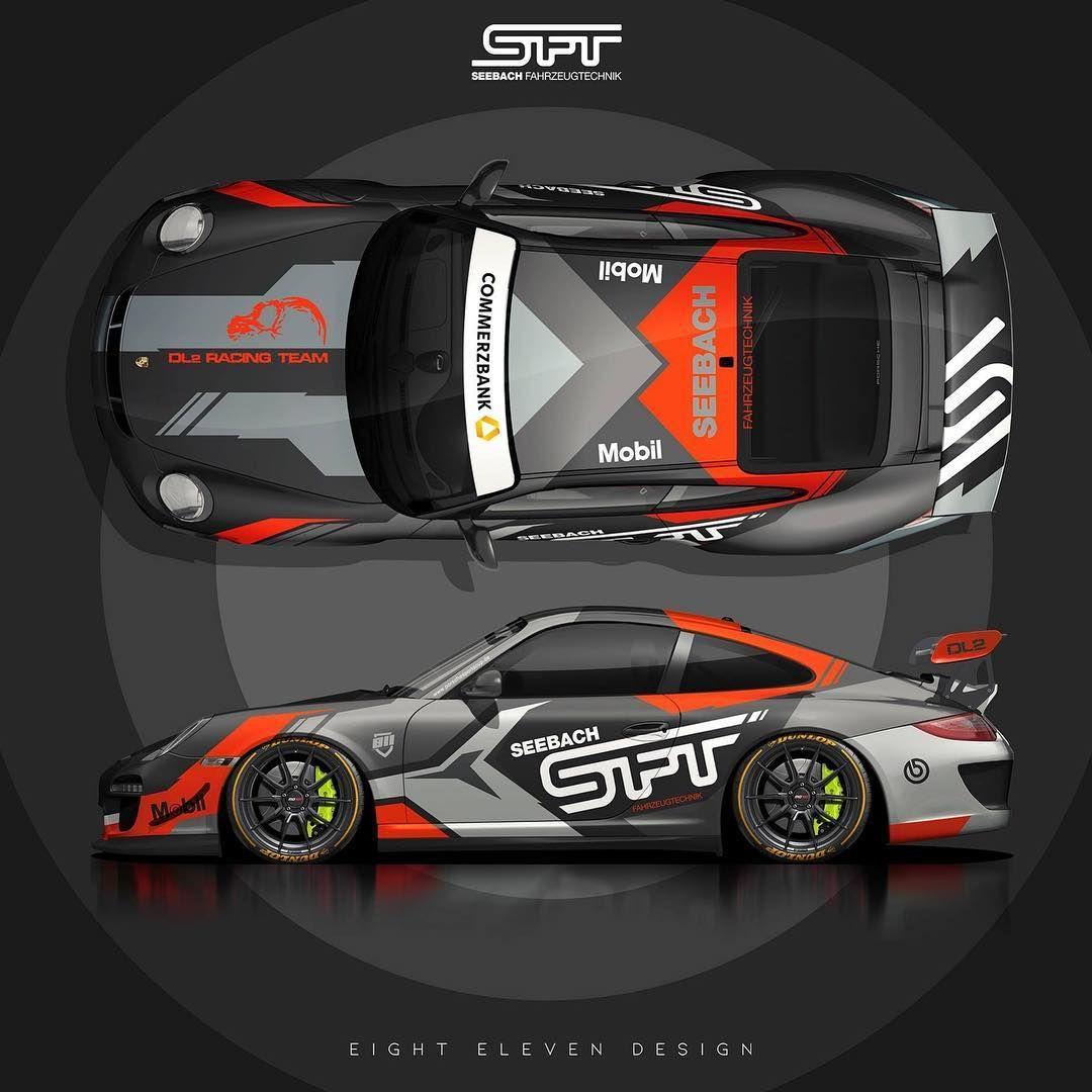 Racewrapdesign Eightelevendesign 811design Porsche Porschecup Porsche997 Porsche997cup 997gt3cup Carwrap Racing Car Design Rally Car Design Motorsport