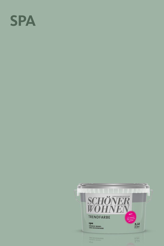 Trendfarbe Spa Schoner Wohnen Farbe Schoner Wohnen Trendfarbe Badezimmer Streichen