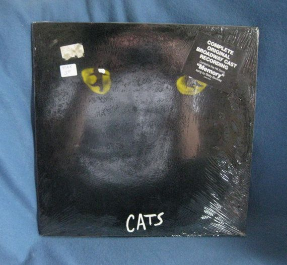 Andrew Lloyd Webber Cats Original London Cast Recording 2ghs 2017 Music Records Ebay It Cast Records The Originals