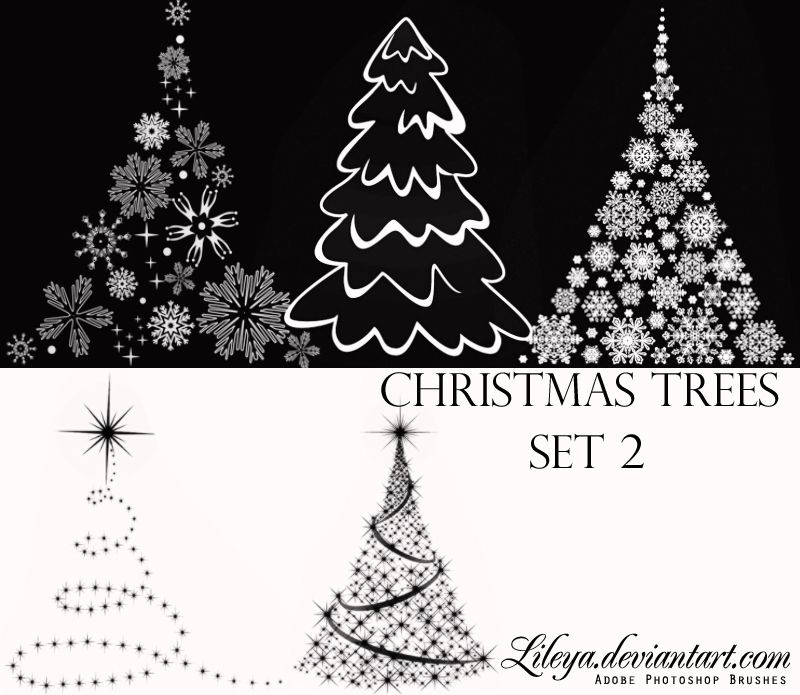 Pin By Janet Lanier On Photoshop Brushes Christmas Graphics Photoshop Brushes Tree Photoshop