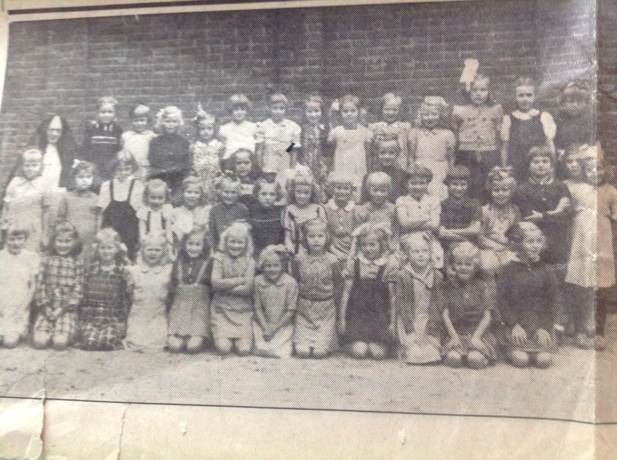 Schoolfoto. 1946