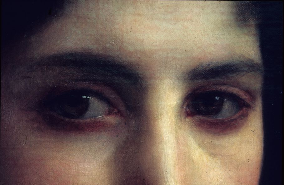detail from Mother and Children, William-Adolphe Bouguereau, 1879