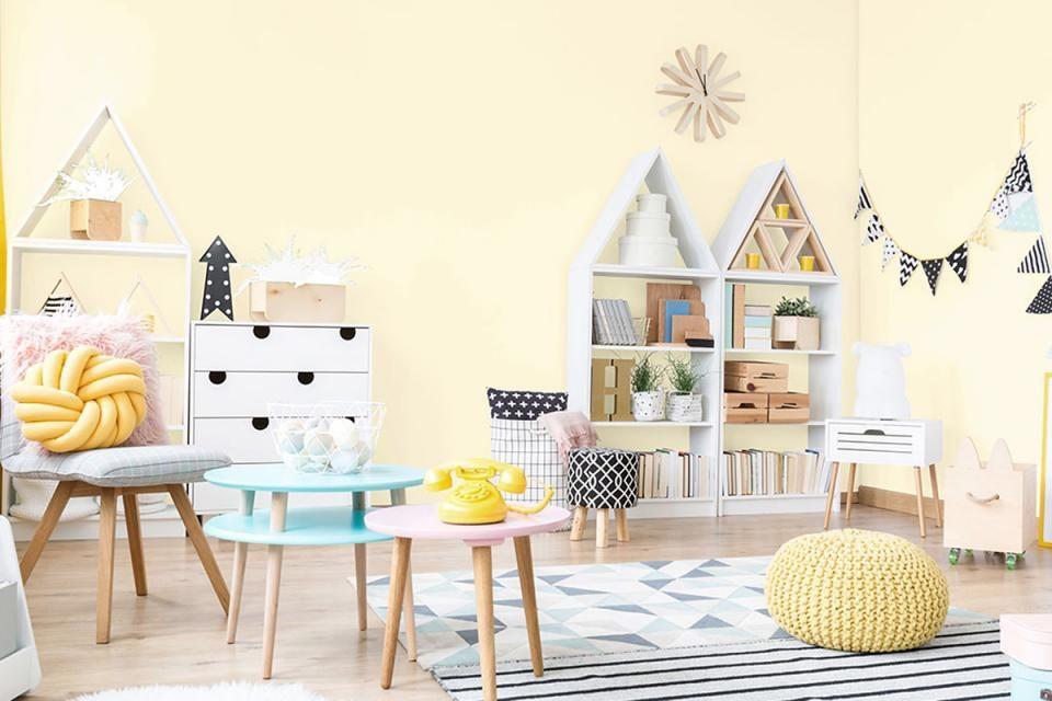 Schoner Wohnen Farbe Naturell In 2020 Schoner Wohnen Farbe Schoner Wohnen Wandfarbe Kinderzimmer