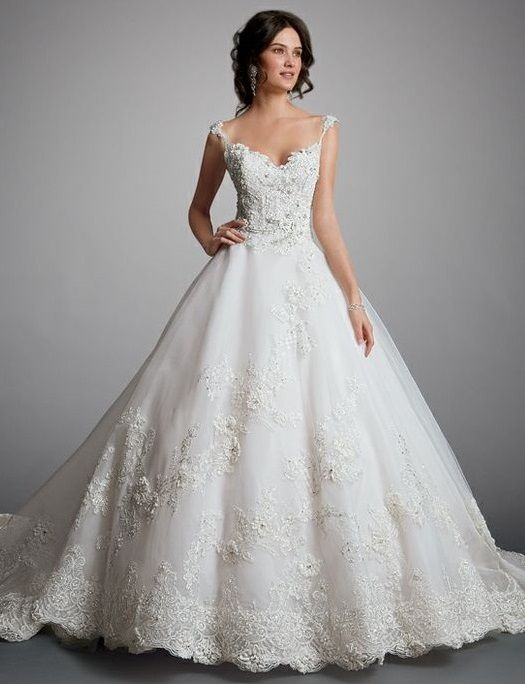 fairytale wedding dress by Amalia Carrara | Wedding Dresses - Be a ...