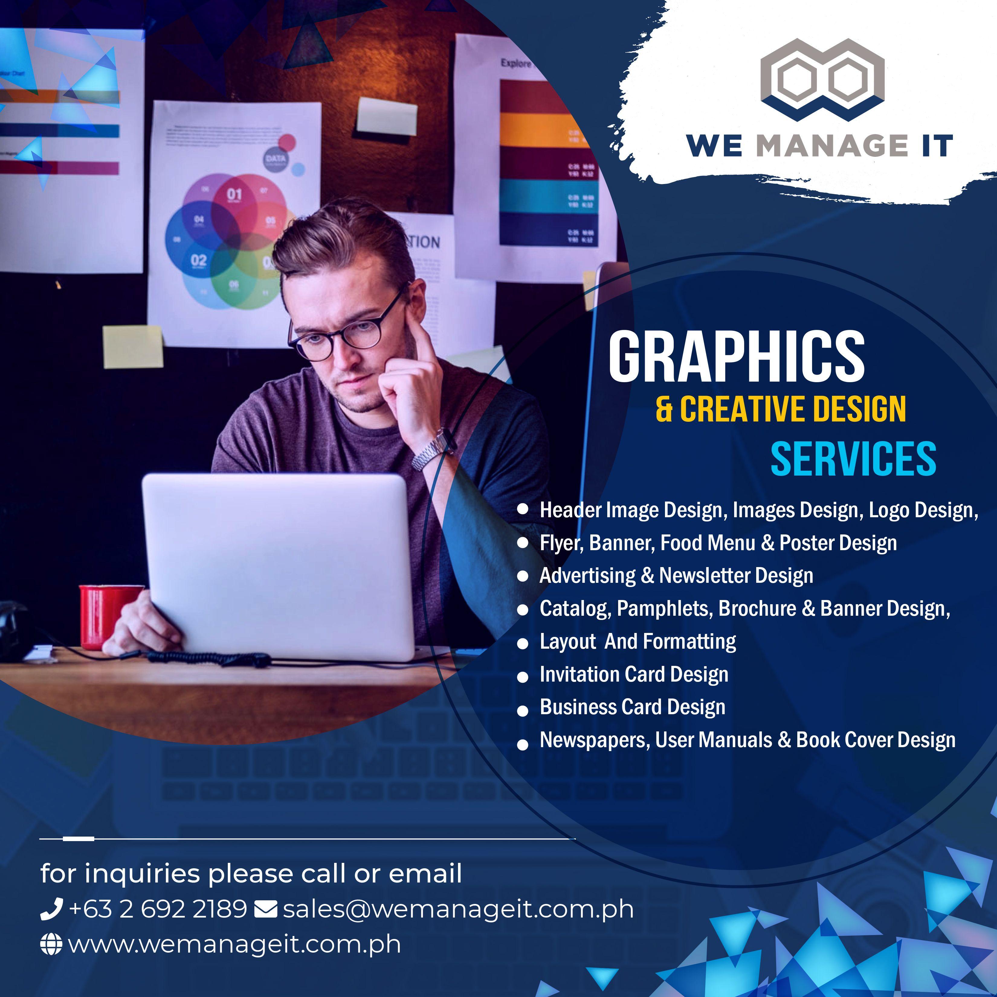 Graphic Design Services Philippines Graphic Design Services Service Design Creative Web Design