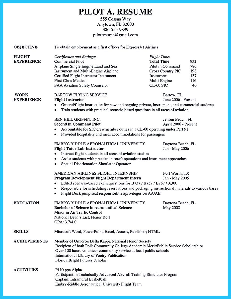 to arrange an aviation resume is different from other resumes sometimes it the resume format - Aviation Resume Templates