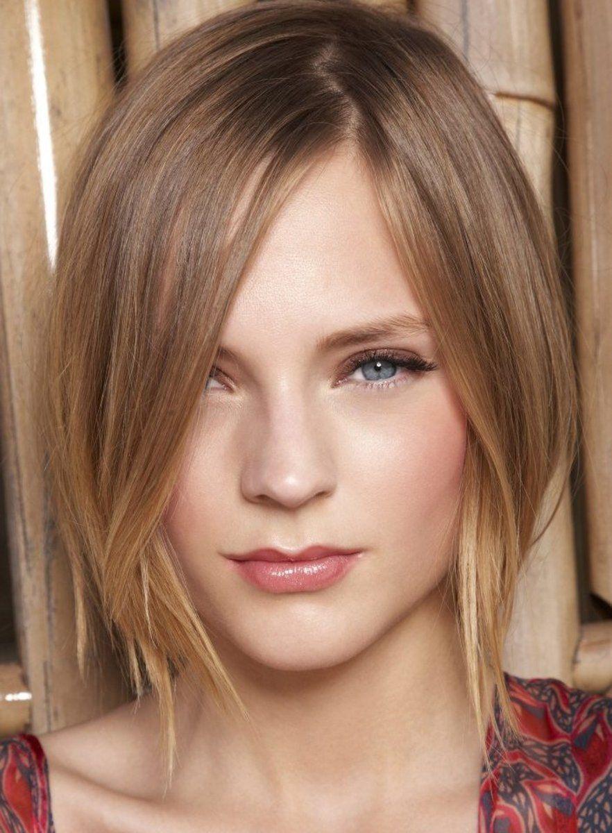 Light brown bob for fine hair fine haircut styles in