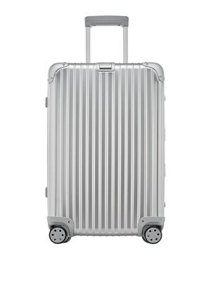 "RIMOWA Topas 26"" Multiwheel Suitcase. #rimowa #bags #patent #travel bags #suitcase #"