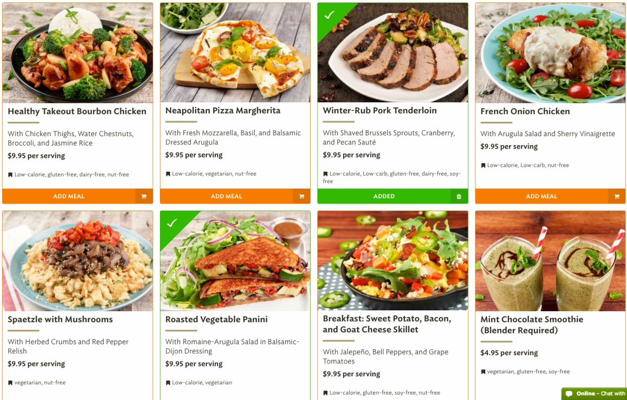 Blue apron plans - We Tried Blue Apron Hello Fresh And Their 4 Competitors One Was Clearly The