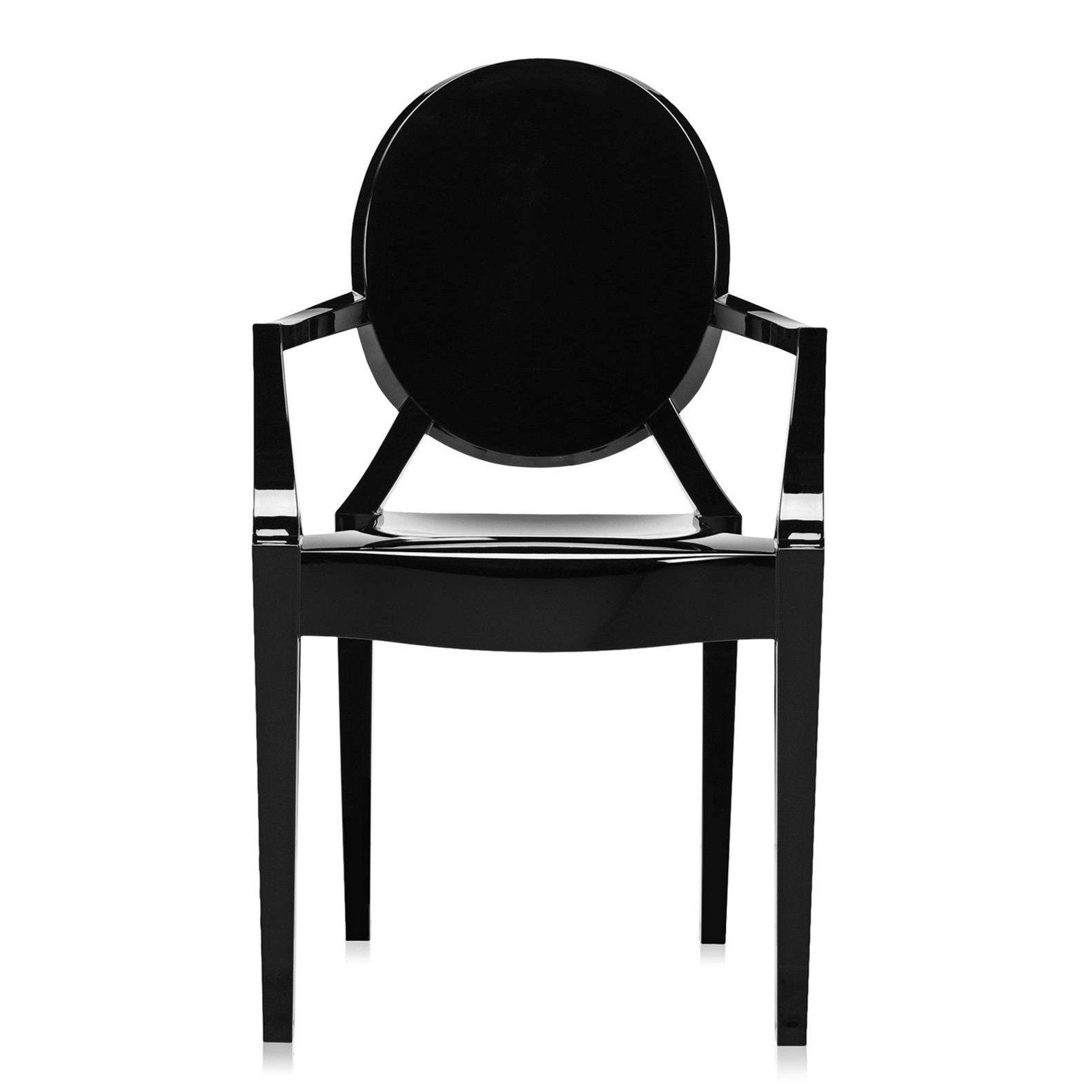 Louis Ghost Armchair Set Of 2 In 2020 Louis Ghost Chair Patio Dining Chairs Dining Arm Chair