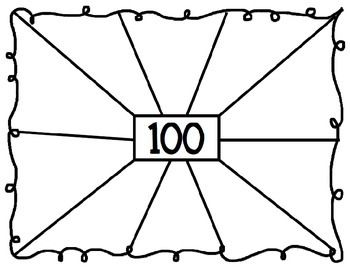 I created these activities to use during the 100th Day of