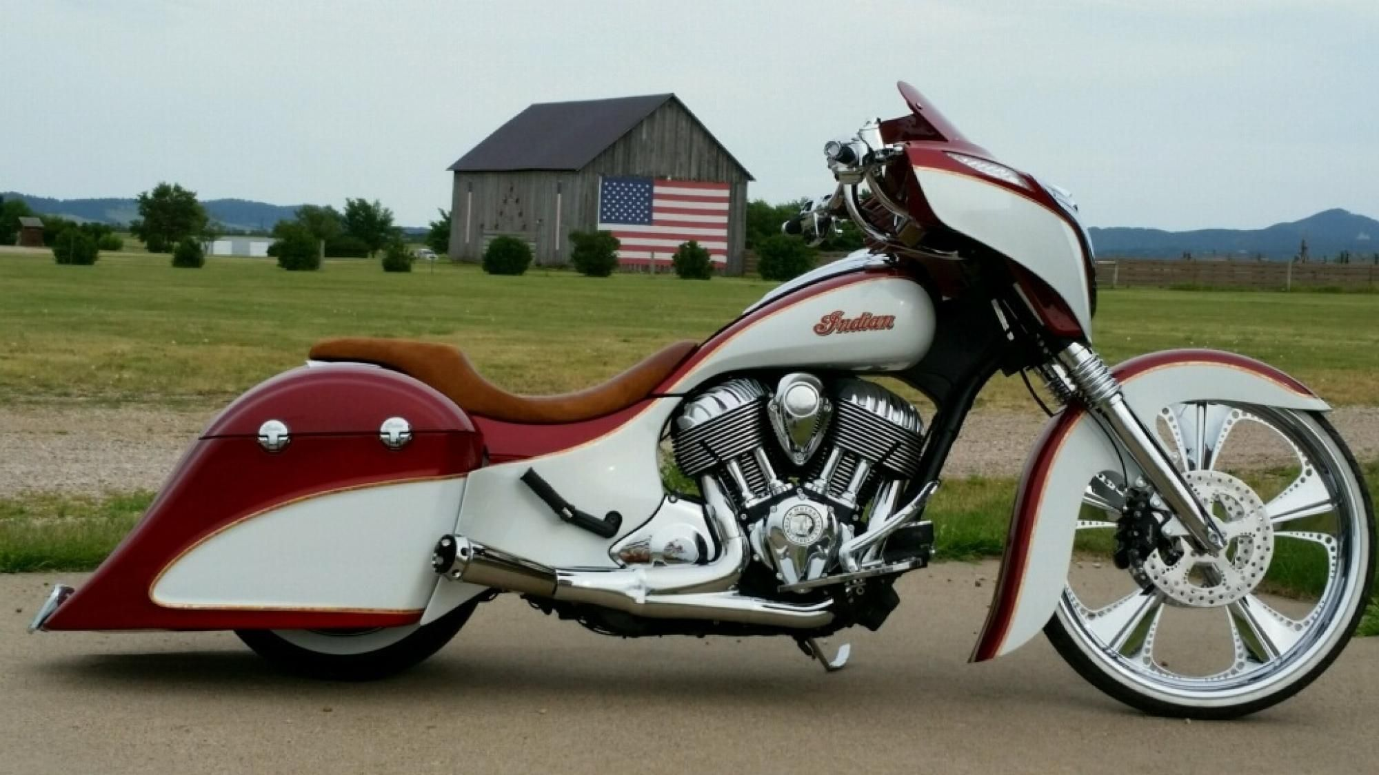 Custom Indian Bagger