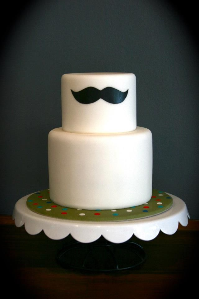 mustache Cake - @Matthew Addonizio Peter you like this??? maybe for grooms cake?? just an idea =)