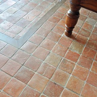 tile flooring antique burgundy terracotta floor tiles   spain remodeling      rh   pinterest com