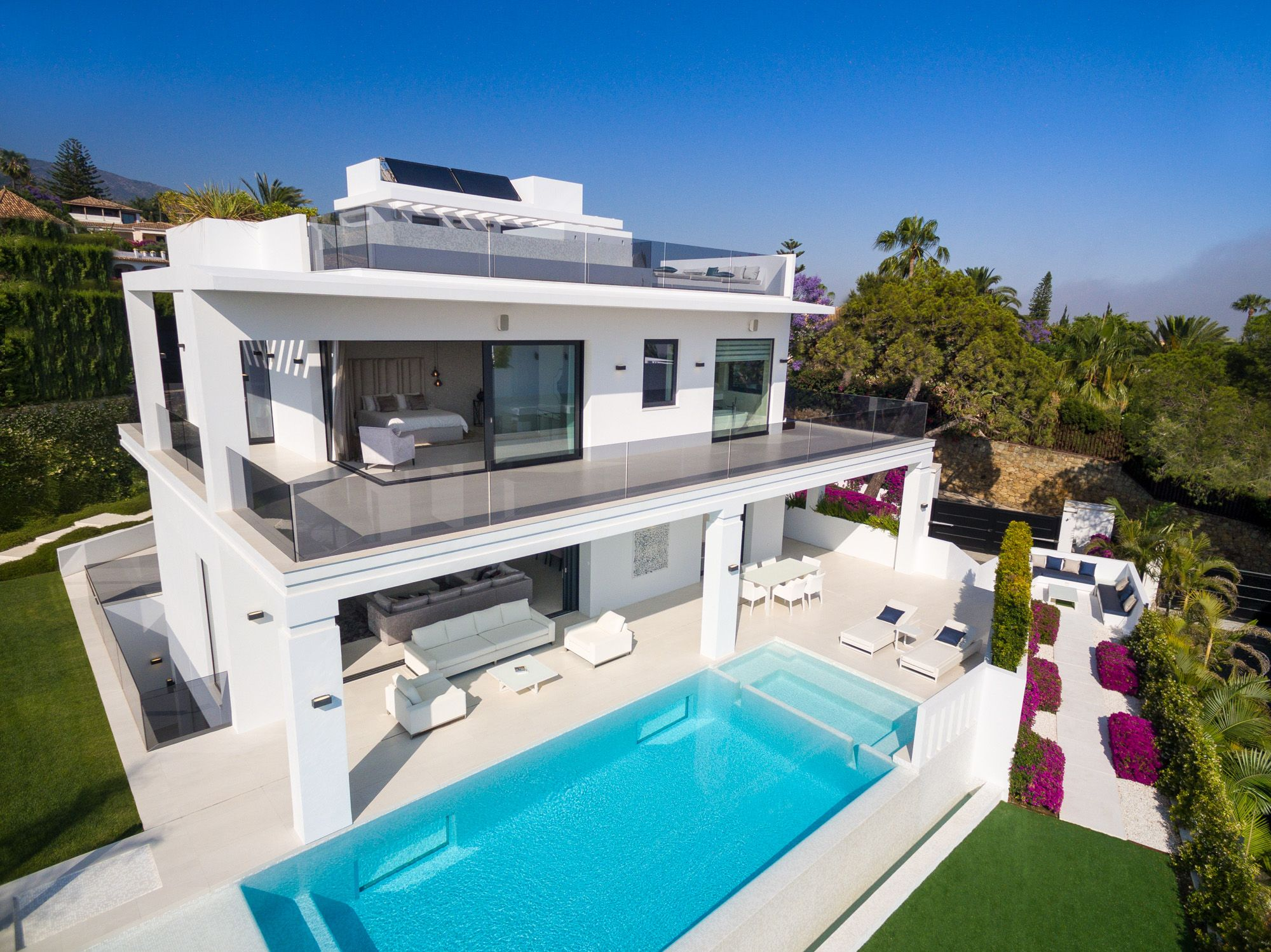 Modern Villa with Panoramic Sea Views for Sale in The Golden Mile ...