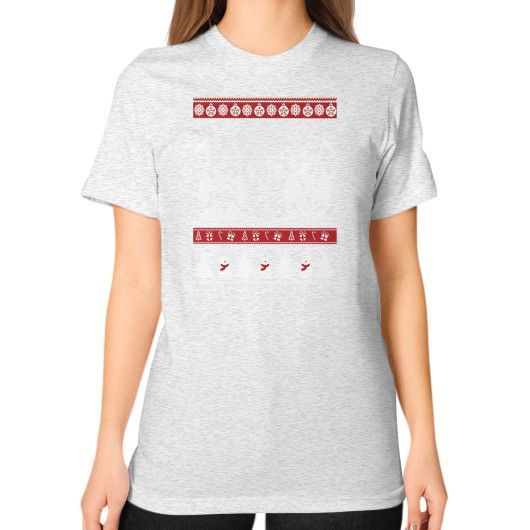 I love the citizens Unisex T-Shirt (on woman)